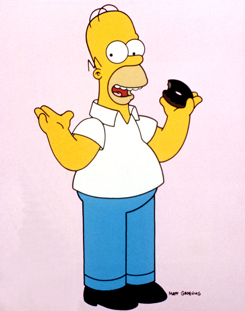 Homer Simpson. The father who is overweight, lazy and works at a ...